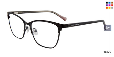 Black Lucky Brand D114 Eyeglasses