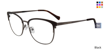Black Lucky Brand D115 Eyeglasses