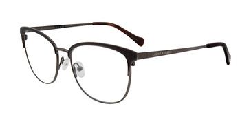 Black Lucky Brand D115 Eyeglasses.