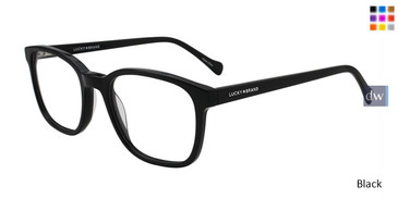 Black Lucky Brand D411 Eyeglasses