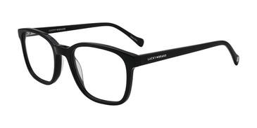 Black Lucky Brand D411 Eyeglasses.