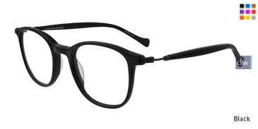 Black Lucky Brand D413 Eyeglasses - Teenager