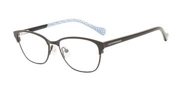 Black Lucky Kid D717 Eyeglasses.