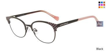 Black Lucky Kid D718 Eyeglasses - Teenager