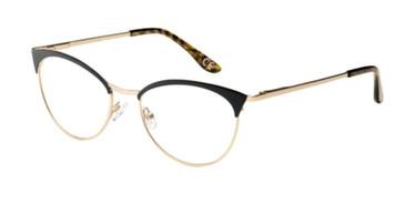Black Corinne McCormack Paulding Eyeglasses