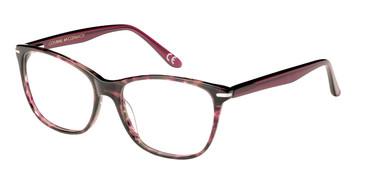Red Corinne McCormack Chambers Eyeglasses