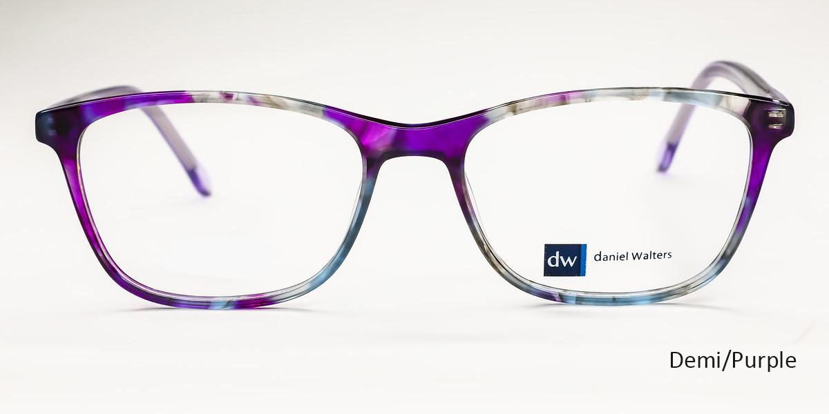 Demi/Purple Daniel Walters EAY906 Eyeglasses