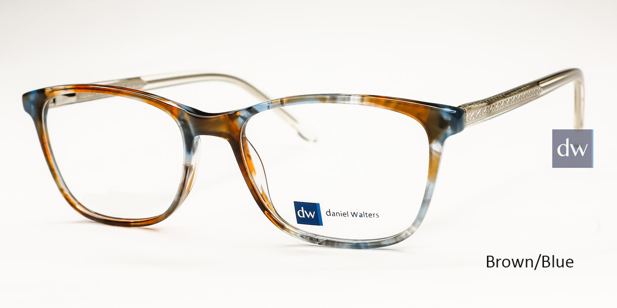 Brown/Blue Daniel Walters EAY906 Eyeglasses