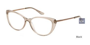 Black Corinne McCormack Hylan Boulevard Eyeglasses