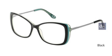 Black Corinne McCormack Vanderbilt Avenue Eyeglasses