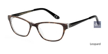 Leopard Corinne McCormack Chatham Square Eyeglasses - Teenager
