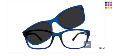 Blue  Vivid Collection 6014 Sunglasses.