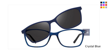 Crystal Blue Vivid Collection 6015 Sunglasses - Teenager.