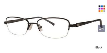 Black Vera Wang Aglaia Eyeglasses.
