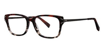 Ruby Tortoise Vera Wang Alessia Eyeglasses.
