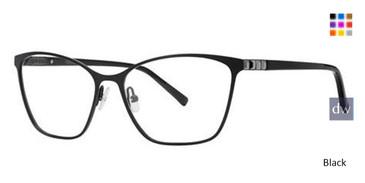 Black Vera Wang Alouette Eyeglasses.
