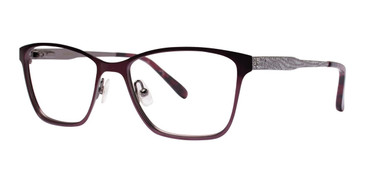 Maroon Vera Wang Alva Eyeglasses.