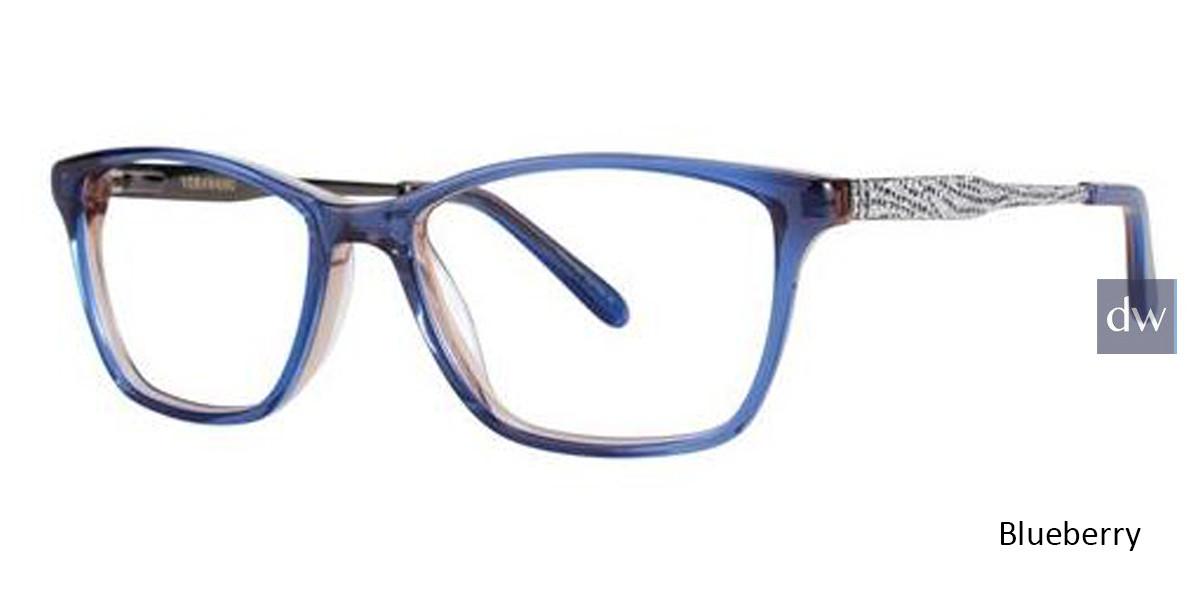 Blueberry Vera Wang Alviva Eyeglasses.