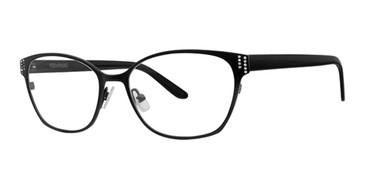 Black Vera Wang Annah Eyeglasses.