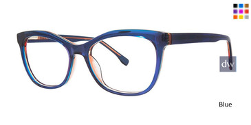 Blue Vivid Collection 913 Eyeglasses.