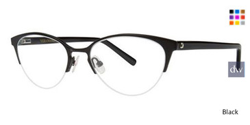 Black Vera Wang Aster Eyeglasses.