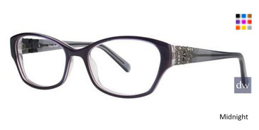 Midnight Vera Wang Aude Eyeglasses.