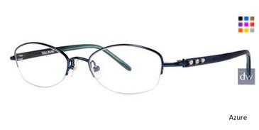 Azure Vera Wang Bellatrix Eyeglasses.