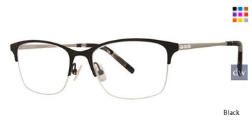 Black Vera Wang Blair Eyeglasses.