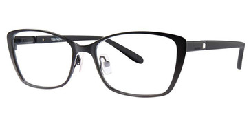 Black Vera Wang Brinn Eyeglasses.