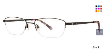 Black Vera Wang Callisto Eyeglasses.
