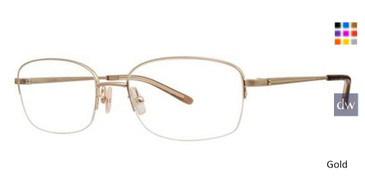 Gold Vera Wang Camelia Eyeglasses.