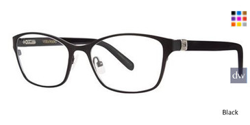 Black Vera Wang Caterina Eyeglasses.