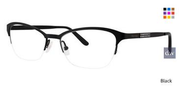Black Vera Wang Catlin Eyeglasses.