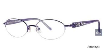 Amethyst Vera Wang Celestial Eyeglasses.