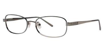 Gunmetal Vera Wang Dolcezza Eyeglasses.