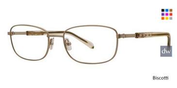 Biscotti Vera Wang Elaina Eyeglasses.