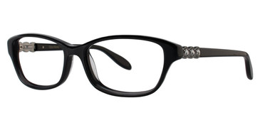 Black Vera Wang Elgantine Eyeglasses.