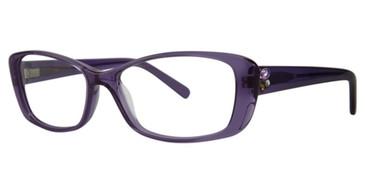 Plum Vera Wang Eos Eyeglasses.
