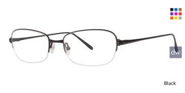 Black Vera Wang Epitome Eyeglasses.