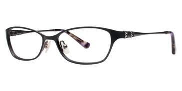 Black Vera Wang Europa Eyeglasses.