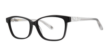 Black Vera Wang Evonne Eyeglasses.