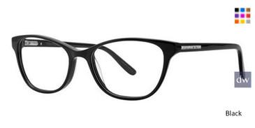 Black Vera Wang Felice Eyeglasses.