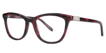 Berry Tortoise Vera Wang Frigg Eyeglasses.