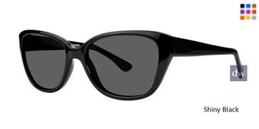 Shiny Black Vivid Retro Shades 8 Sunglasses.