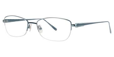 Teal Vera Wang Galaxia Eyeglasses.