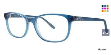 Azure Vera Wang Gemmata Eyeglasses.