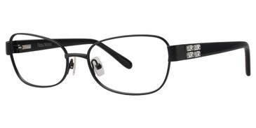 Black Vera Wang Joanie Eyeglasses.