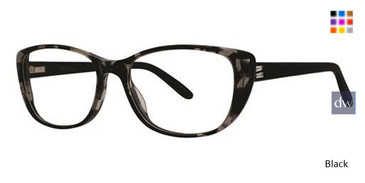 Black Vera Wang Kambrie Eyeglasses.