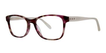 Amethyst Tortoise Vera Wang Kami Eyeglasses.