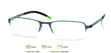 Blue, Free-Form FFA904 Eyeglasses